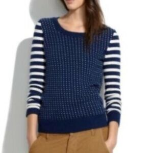 Madewell Striped Birds Eye Sweater